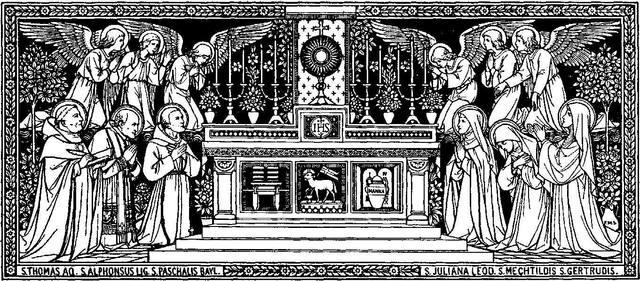 The Eucharist: The Sacrament ofMercy